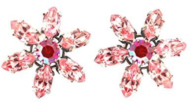 Image Unavailable. Image not available for. Color  Swarovski Crystal  Earrings ... eb814ace1