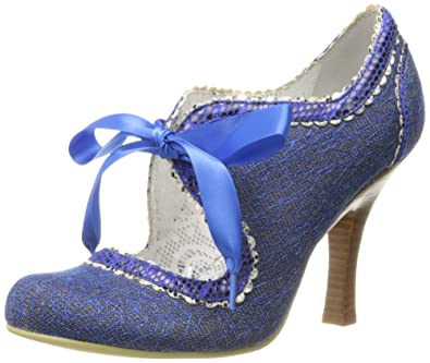 Poetic Licence Women's Glamville Dress Pump, Rich Blue, ...
