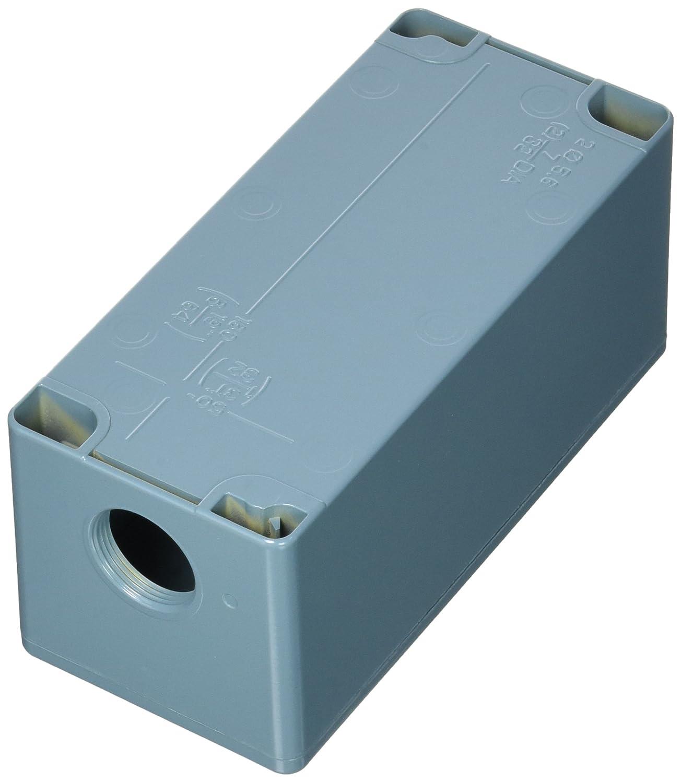 Schneider Electric XAPM3504 Caja Metalica Vacia 4 Taladros: Amazon.es: Industria, empresas y ciencia
