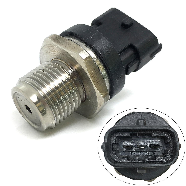 CBK Fuel Rail Pressure Sensor for 2006-2010 LBZ LMM 6.6L Sierra/Silverado Duramax 0281002971 213-3914