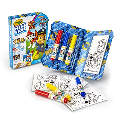 Crayola Color Wonder Mess Free On The Go, Paw Patrol: Toys & Games