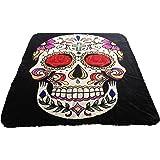 Brand New! 5 Pounds! Queensize Sugar skullSoft Korean Style Mink Blanket