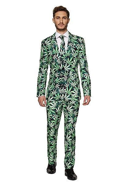 Suitmeister Halloween Costumes for Men in Different Prints \u2013 Adult Suits  Include Jacket Pants \u0026 Tie