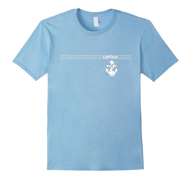 Captain's Nautical White Anchor Sailing T-Shirt-You'll Love-TH