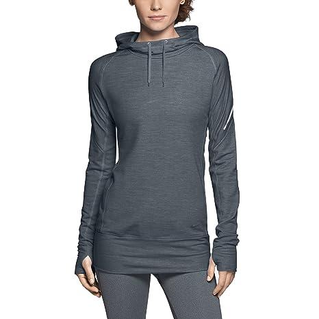 cccb15f419 Amazon.com   Nike Womens Wool Hoodie Top Sweatshirt New Blue Hoody  575535-479-xs   Athletic Hoodies   Sports   Outdoors