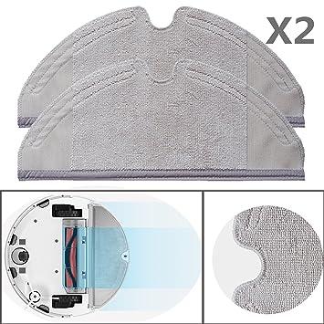 Original XIAOMI MI Robot 2 Robo Rock S50 Vacuum Cleaner 2 unidades wischtücher Mopping Cloth