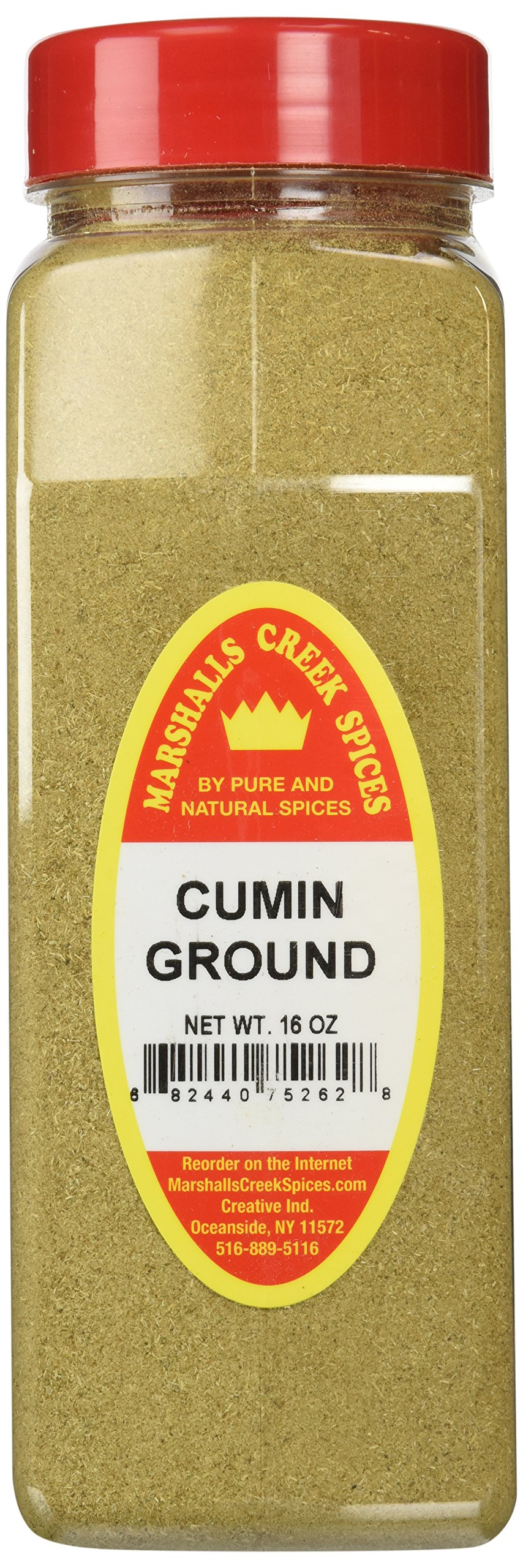 Marshalls Creek Spices X-Large Size Cumin, Ground, 16 Ounces