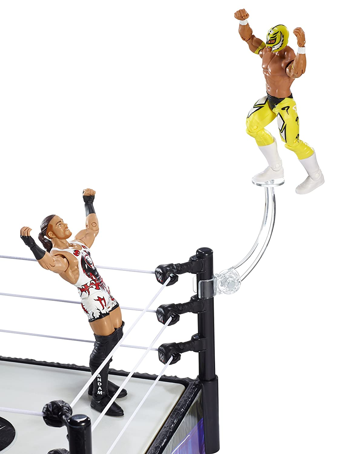 amazon com wwebattle pack series 33 rob van dam vs rey