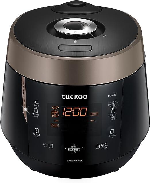 Amazon.com: Cuckoo CRP-P0609S - Olla de presión ...