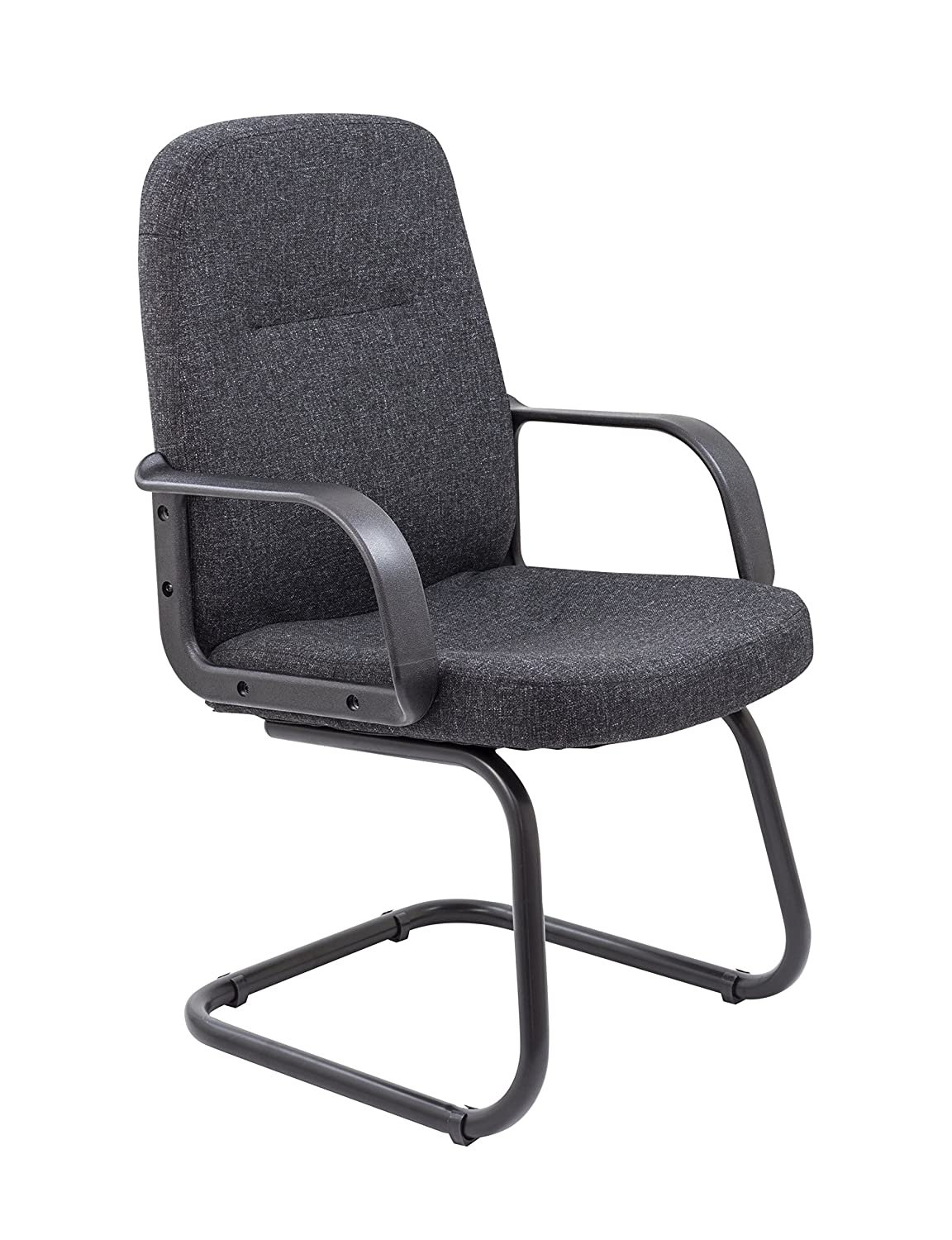 office hippo office visitor chair fabric charcoal amazon co uk rh amazon co uk Modern Office Chairs Visitor Smail Office Visitor Chair