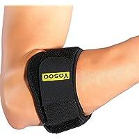 Codera ajustable antebrazo Guardia Codo de tenis Golf correa soporte para tenis golfista alivio del dolor tendinitis con almohadillas de compresión para hombres mujeres Diseño Versátil