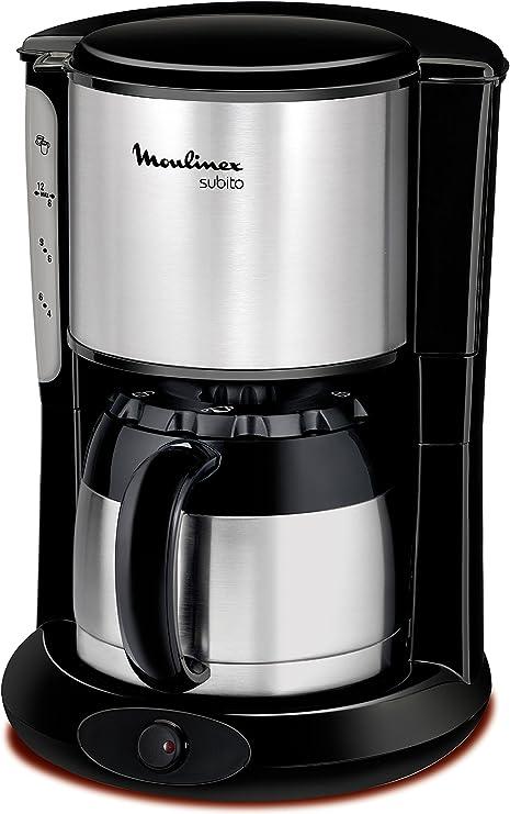 Moulinex FT360811 - Cafetera de goteo, 850 W, 0.9 L, de café ...