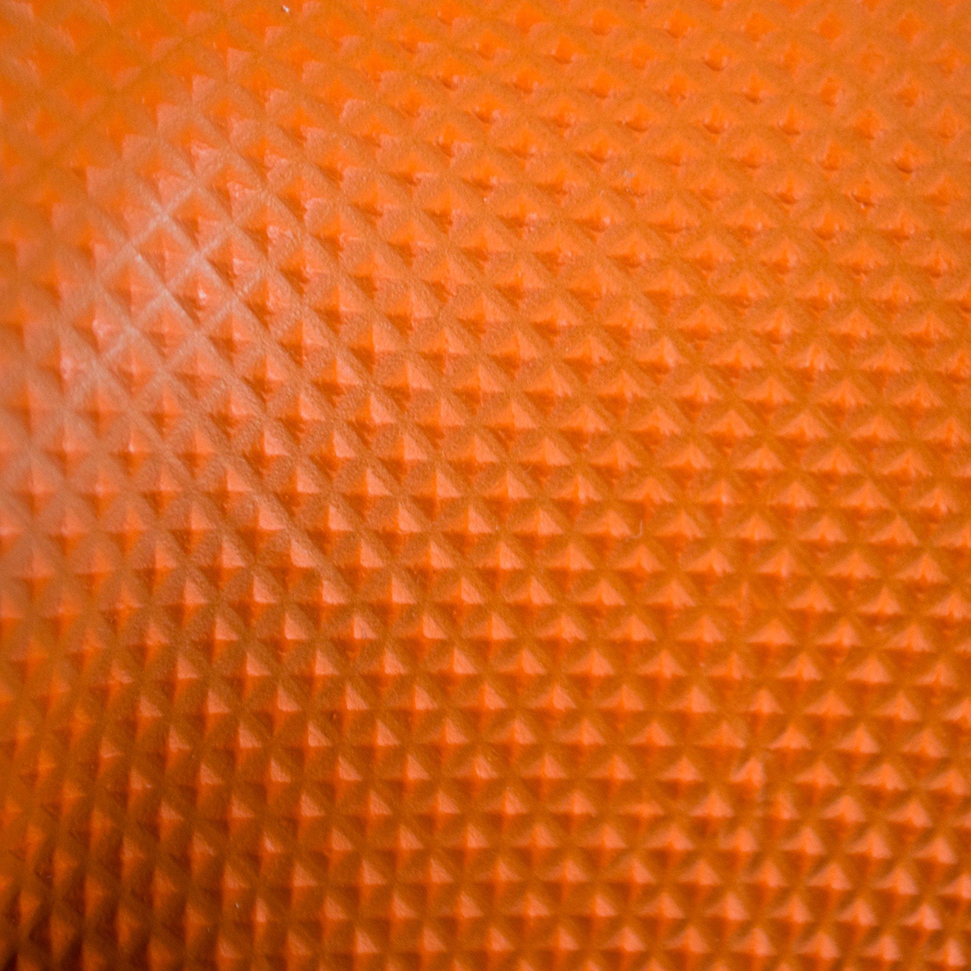 SupplyMaster - SMDTON8M - Diamond Texture Nitrile Gloves - Disposable, Powder Free, Industrial, 8 mil, Medium, Orange (Case of 200) by SupplyMaster (Image #2)
