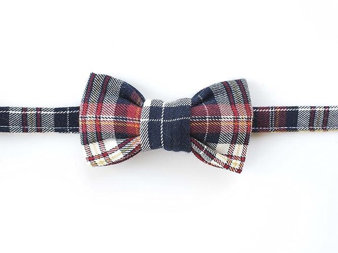 large choix de designs haut de gamme pas cher check-out Noeud papillon bébé enfant cérémonie coton écossais: Amazon ...