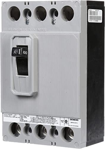 Siemens QJ23B100H 100-Amp Three Pole 240-Volt 42KIAC Breaker