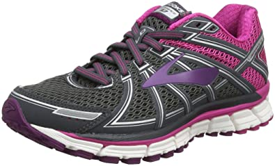 Brooks Defyance 10, Chaussures de Running Femme, Multicolore (Ebonypinkplum), 36.5 EU