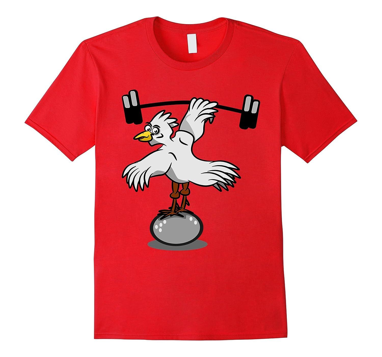 Chicken Legs Body Building Workout T-shirt-FL