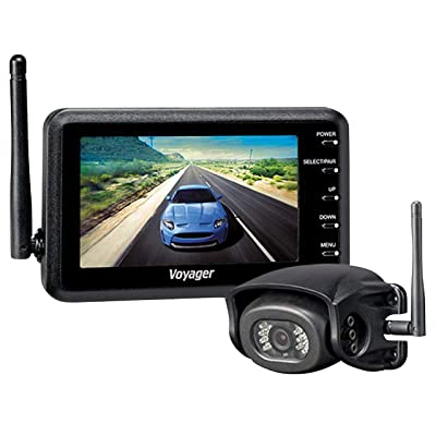 """ASA Voyager Wireless Wisight Camera System with 5.6\"""" Monitor for Prewired Trailers: Automotive [5Bkhe0407381]"""