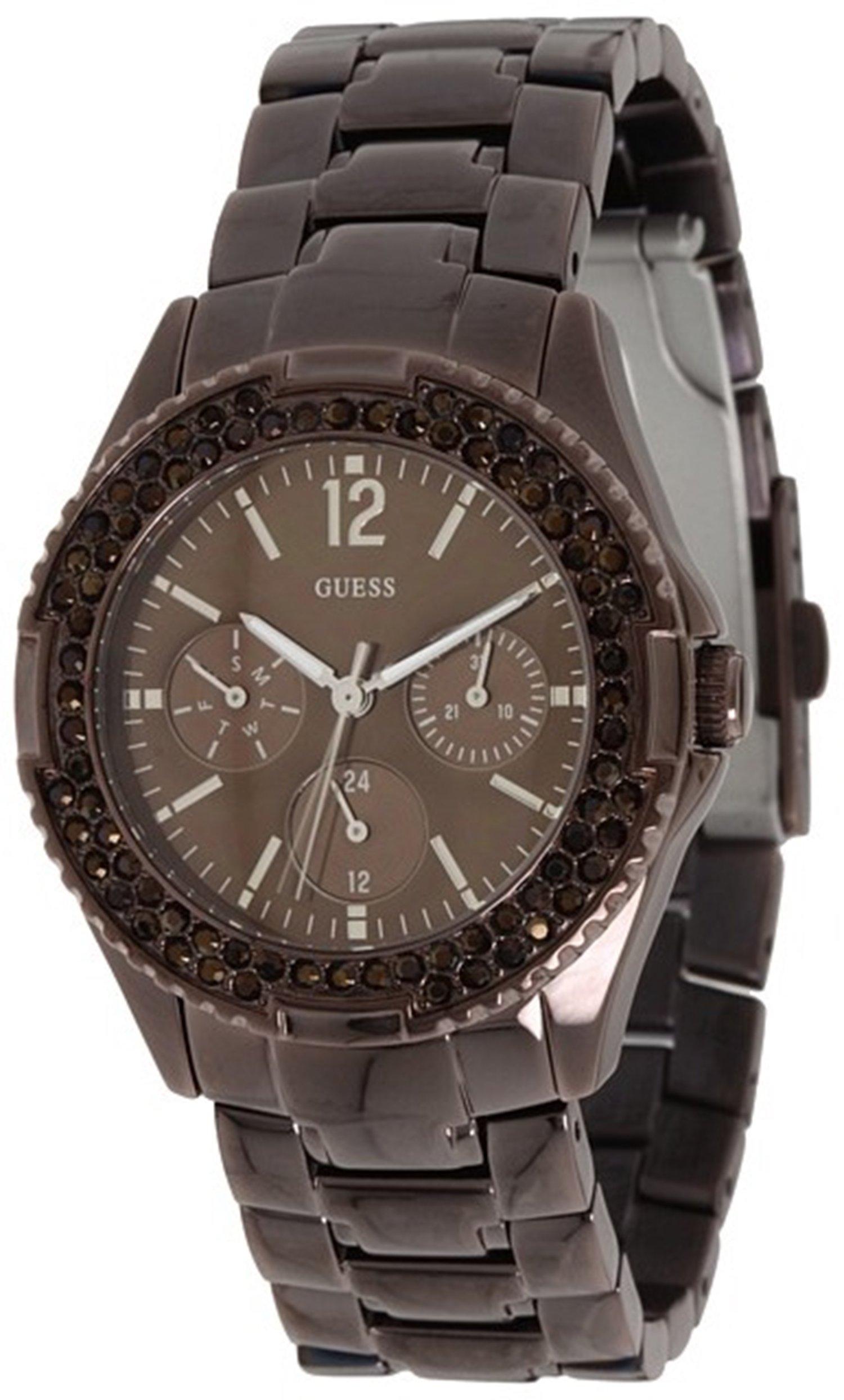GUESS Women's U13631L1 Feminine Classic Hi-Energy Bronz Watch