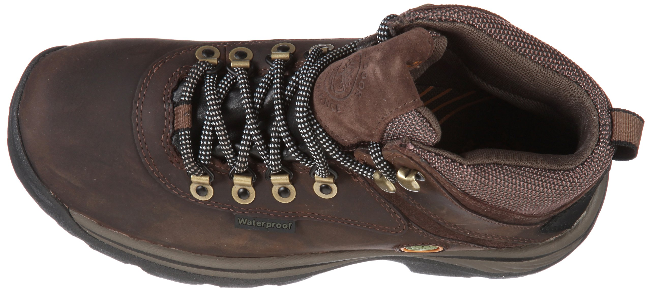 Timberland Women's White Ledge Mid Ankle Boot,Brown,9.5 W US by Timberland (Image #7)