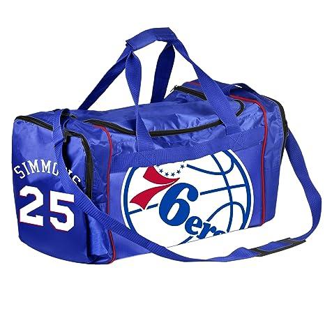 5a63b3d835b Amazon.com   FOCO NBA Philadelphia 76ers Core Duffel Gym Bag - Ben ...