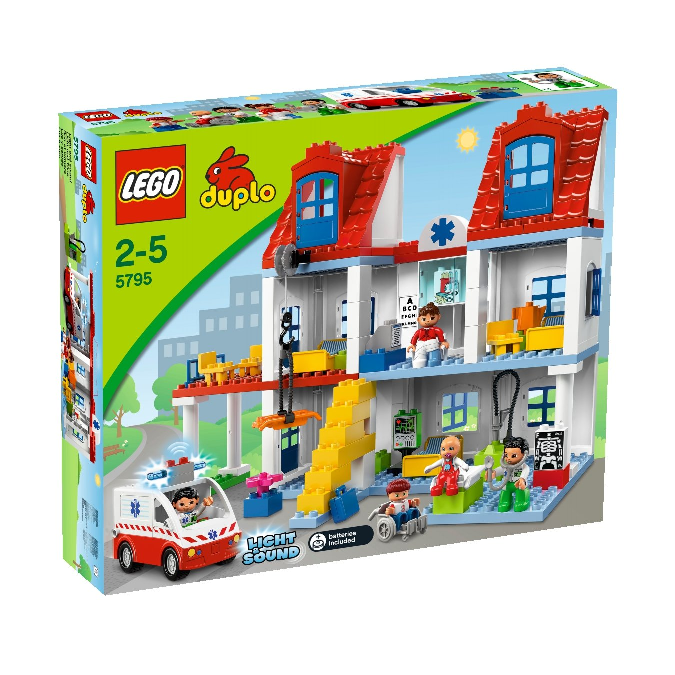 LEGO LEGO LEGO Duplo 5795 - Großes Stadtkrankenhaus b55d12