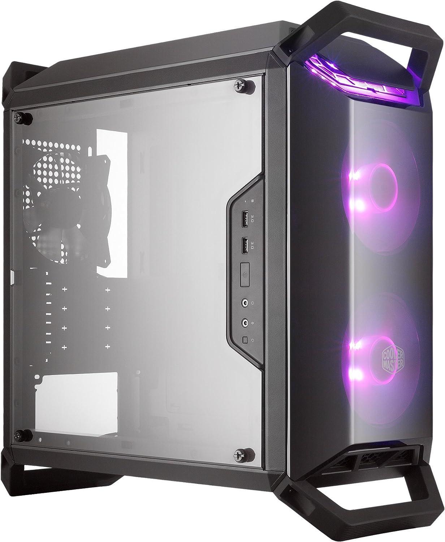 Cooler Master MasterBox Q300P - Cajas de ordenador de sobremesa Micro-ATX, Mini-ITX, LED RGB, con ventana MCB-Q300P-KANN-S02: Cooler: Amazon.es: Informática