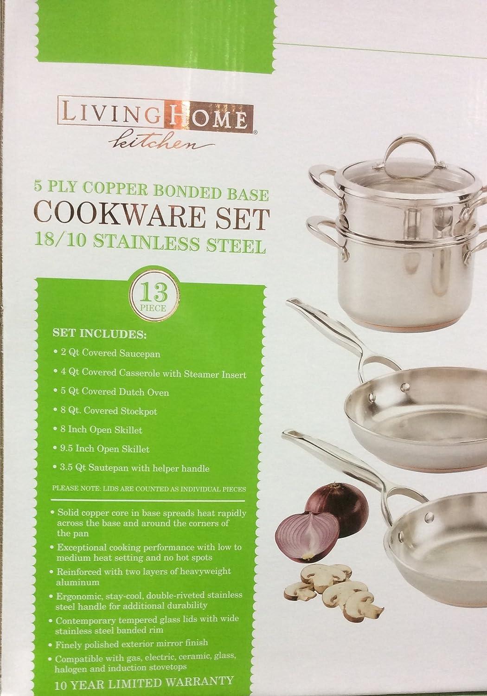 Amazon.com: 13 piezas Utensilios de cocina Set (18/10 ...