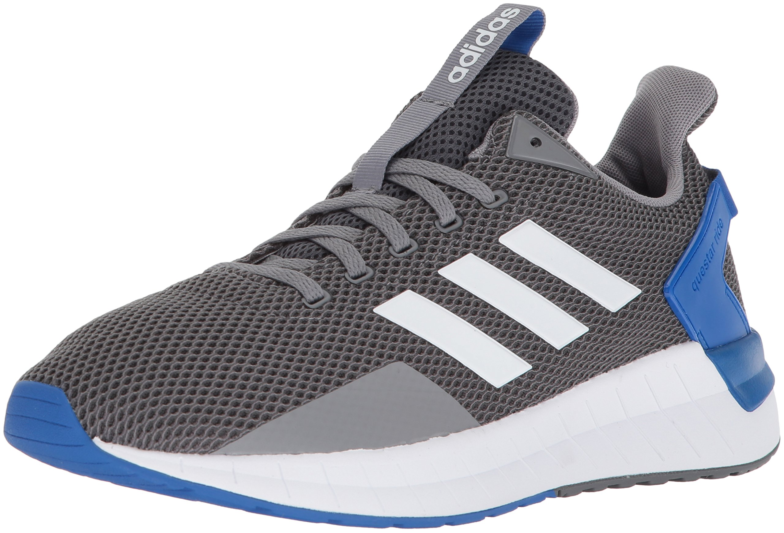 low priced f6ba7 d4921 Galleon - Adidas Mens Questar Ride Running Shoe, Grey ThreeWhiteGrey  Four, 8 M US