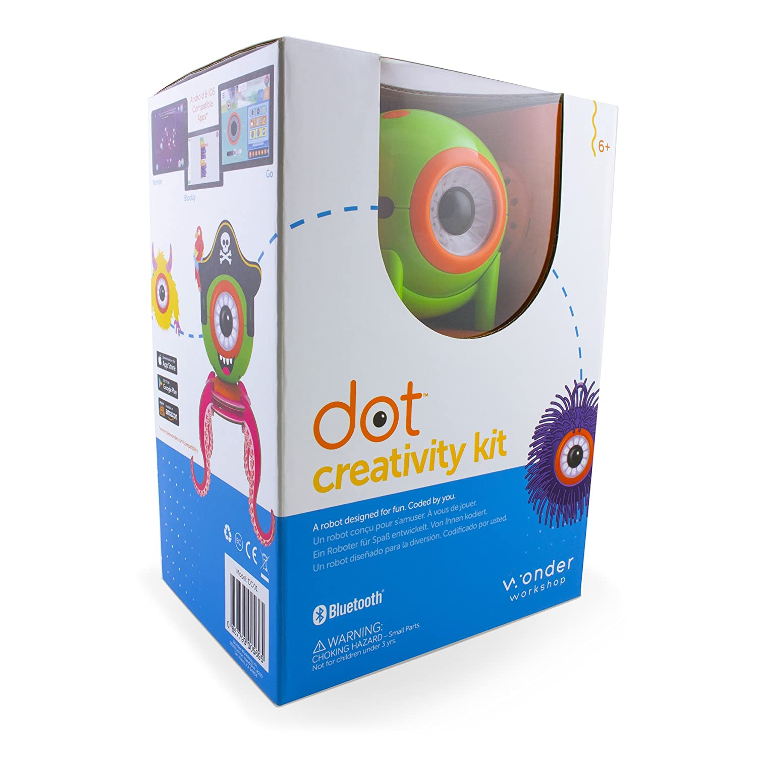 Wonder Workshop Dot Creativity Kit Robot DT01-12