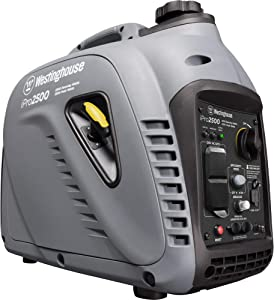 Westinghouse iPro2500 Portable Industrial Inverter Generator - 2200 Rated Watts and 2500 Peak Watts - Gas Powered - OSHA and CARB Compliant
