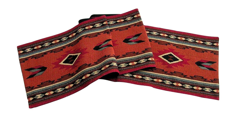 Raakha Now Kinara Cibola Southwestern Design Table Runner Multi Desert Colors 13x72 Inches