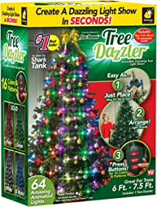 Star Shower Tree Dazzler LED Light Show by BulbHead (31 Light Patterns)