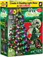 Star Shower Tree Dazzler LED Christmas Lights by BulbHead, Indoor Color Changing LED Light Show for the Xmas Tree (16 Light Patterns)