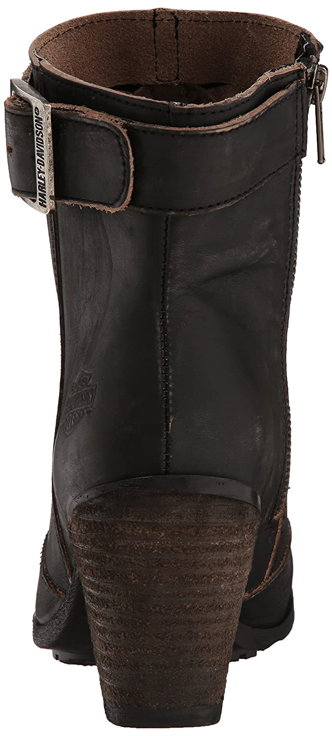 Harley-Davidson Women's Calkins Fashion Boot B077VY44Q8 08.5 Medium US|Grey