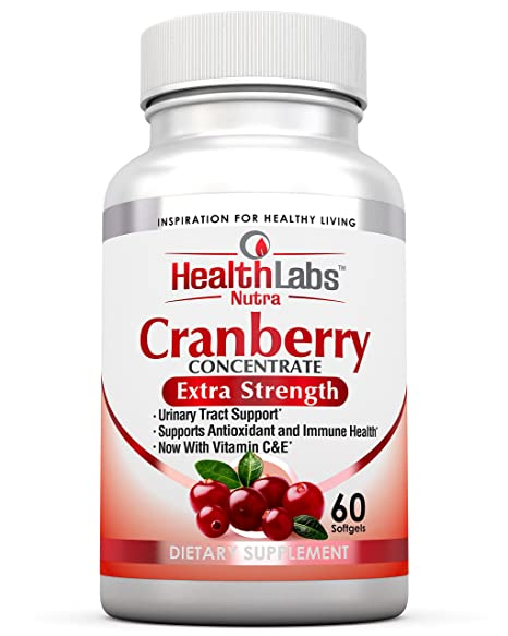 Health Labs Nutra 50:1 Concentrado triple de arándano (Cranberry Concentrate) con vitaminas