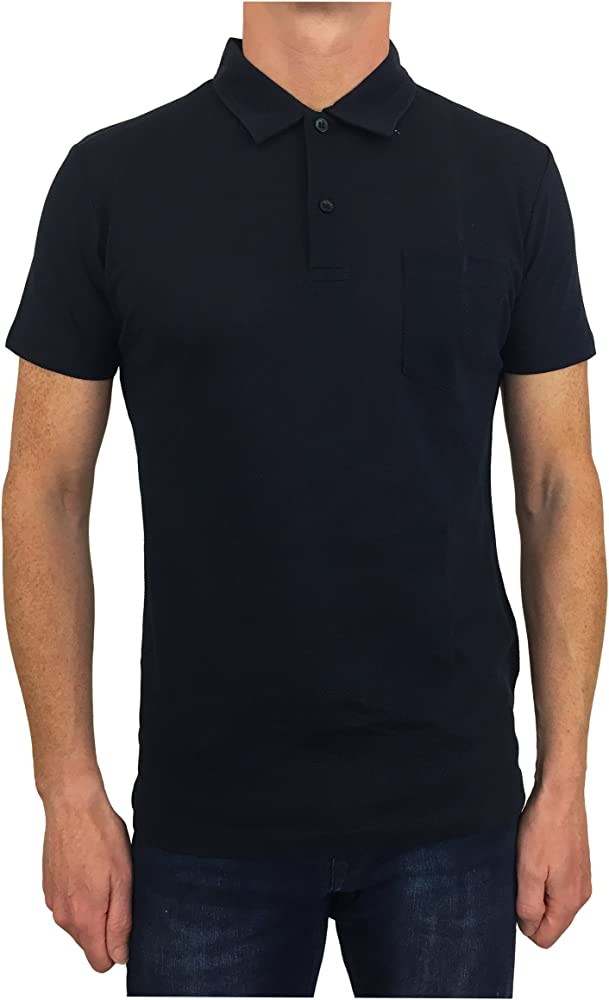 Sunspel - Polo - para Hombre Azul Azul Marino Medium: Amazon.es ...