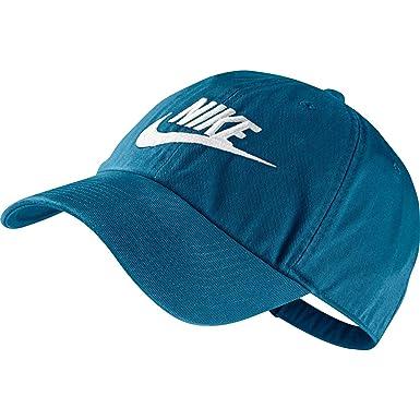 Nike U NSW H86 Futura Washed Gorra De Tenis, Hombre, Azul ...