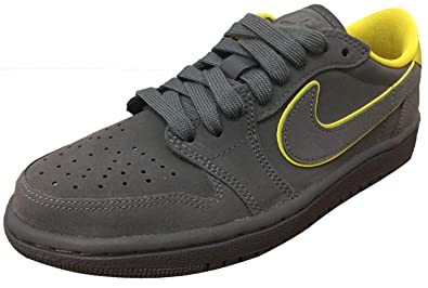 new products df6e9 8bd79 Amazon.com | Air Jordan 1 Retro Low OG Thunder Grey/Bright ...