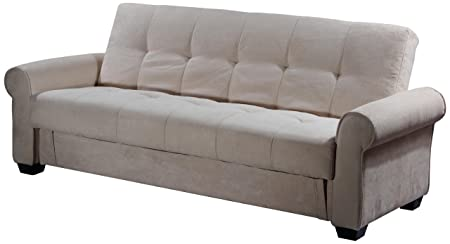 Stupendous Abbyson Living Brighton Convertible Sofa With Storage Home Interior And Landscaping Ponolsignezvosmurscom