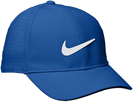 cedc698c07c6d ... 50% off nike 2018 aerobill legacy 91 perforated mens cap hat gym blue  d525f b2f1c