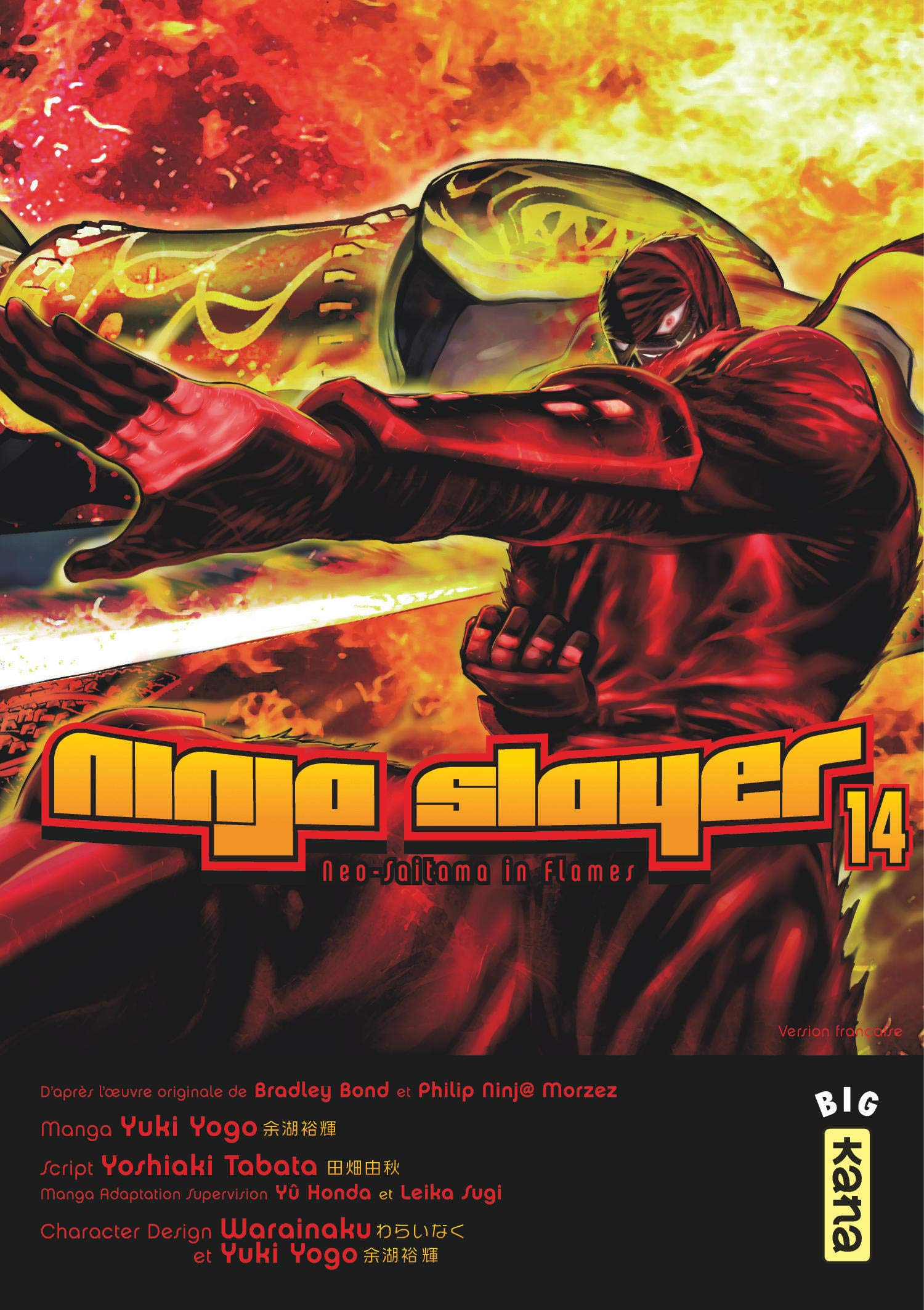 Ninja slayer, tome 14: Amazon.es: Yoshiaki Tabata, Yuki Yogo ...