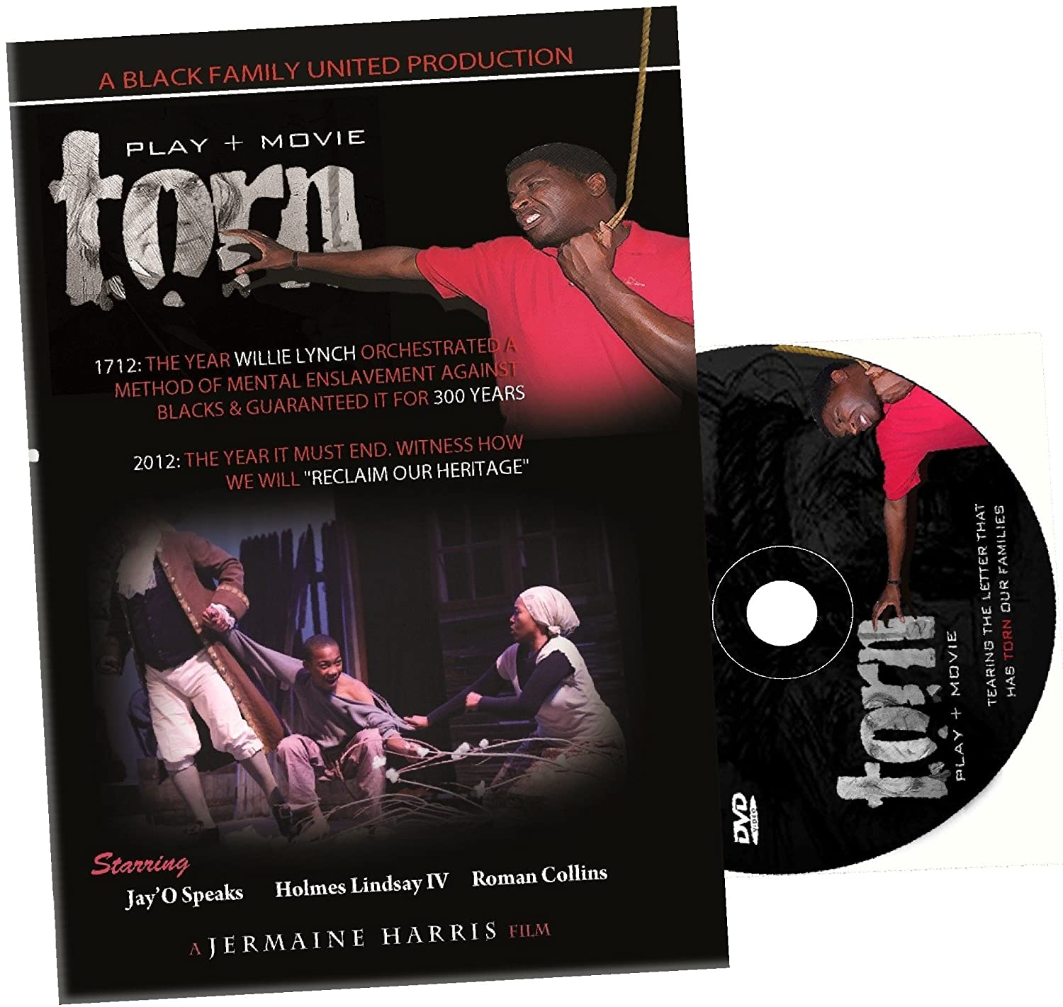 Amazon.com: Torn - The Willie Lynch Letter: JayO Speaks ...