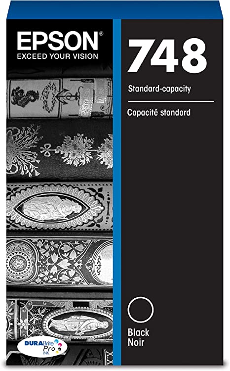 Amazon.com: Epson 748 DURABrite Pro Black Ink Cartridge ...