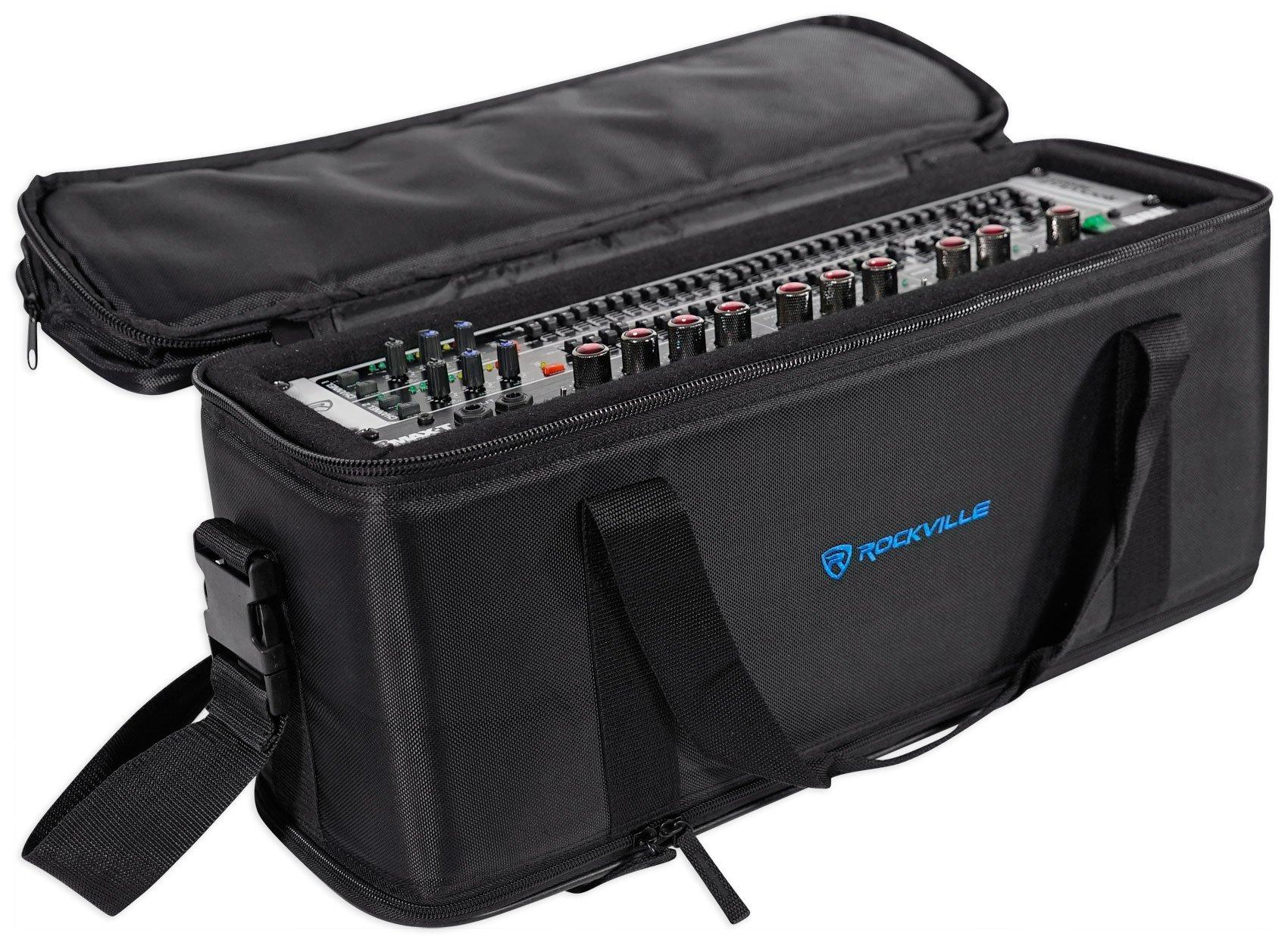 Rockville 3U Rack Bag Double-Sided Case with 12'' Depth + Shoulder Strap (RRB30) by Rockville (Image #5)