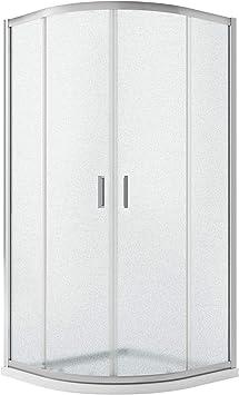 Idralite Box Mampara de Ducha Semicircular 70x90 H185 Impreso C ...
