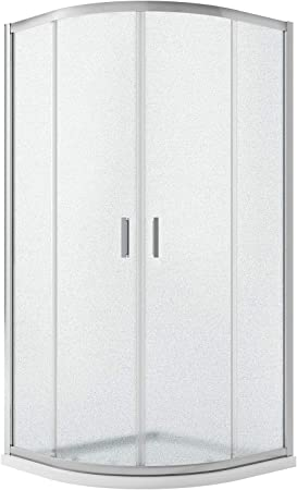 Idralite Box Mampara de Ducha Semicircular 70x90 H185 Impreso C 6mm Mod. Ready: Amazon.es: Hogar