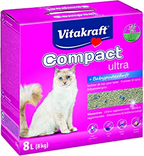 VITAKRAFT Ultra Plus compacto 16079 Cat Litter 8 kg