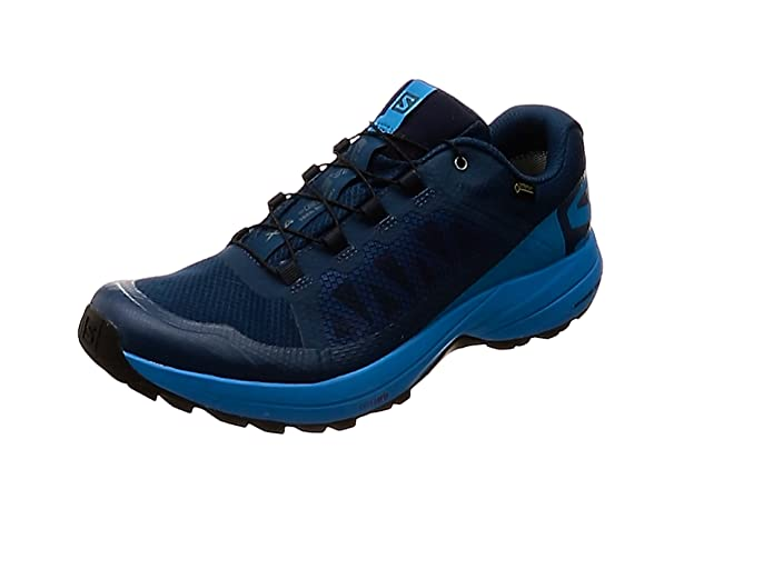 Blau Poseidon//Lime Green//Black 000 Salomon Herren Xa Elevate Traillaufschuhe 40 EU