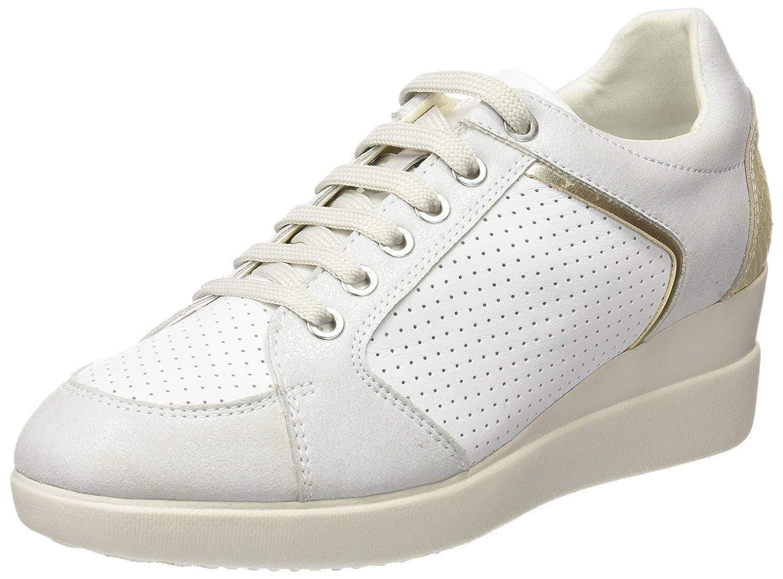 Geox D Stardust B, Sneakers Basses Femme